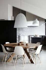 Gorgeous Modern Round Dining Room Sets Interiors Clifford Modern - Round modern dining room sets