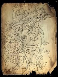эскиз татуировки для рукава Slava Starkov