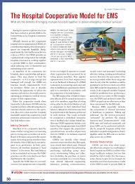 PDF) The hospital cooperative model for EMS. What are the benefits of  bringing multiple hospitals together to deliver emergency medical services?
