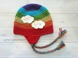 Earflap Hat Crochet Pattern