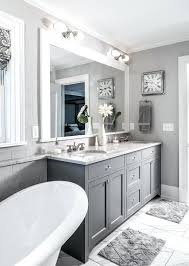 white and gray bathroom ideas. Grey And White Bathroom Clear Glass Apothecary Jars 3 Piece Set Design House Concord Gray Ideas D