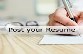 resume post post resume