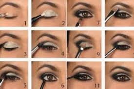easy brown smokey eye makeup tutorial silver black eye make up