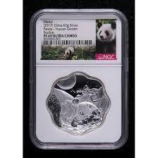 2017 panda garden series ii yuyuan china coin 62g medal ngc69