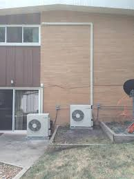 Mitsubishi Ductless Installation Of Two Mitsubishi Ductless Mini Split Systems