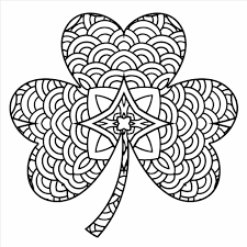 Small Picture Free Printable Pages Celtic Shamrock Coloring Sheet Style Shamrock