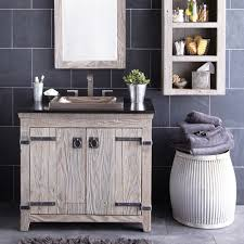 Driftwood Bathroom Vanity Bathroom Elegant Reclaimed Wood Single Bathroom Vanity Driftwood