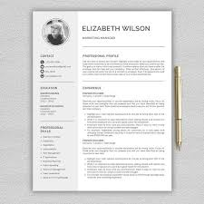pro cv template resume template cv template by pro graphic design on
