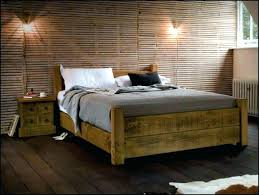 Rustic Storage Bed Reclaimed Wood Storage Bed Industrial Bed ...
