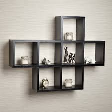 ... Wall Units, Fascinating Wall Unit Shelves Cube Wall Shelves Floating  Wooden Cabinet With Shelves Whiet ...