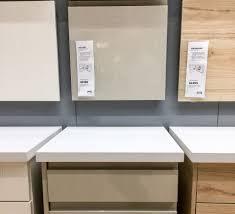 Ikea Voxtorp Beige And Askersund Doors