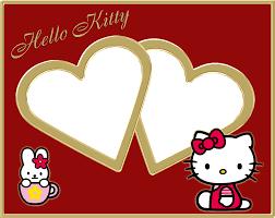hello kitty photo frame app
