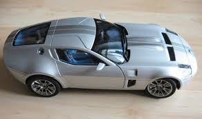 Diecast Ford Shelby GR-1 Concept modelcar, AUTOart 1:18 in grey ...