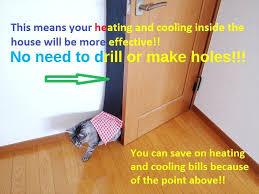 inside cat door cat door flap easy set up kit no need to drill or make inside cat door