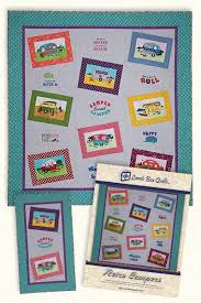 Lunch Box Quilts | Retro Campers (Product Shipped with CD) & Retro Campers (Product Shipped with CD) Adamdwight.com