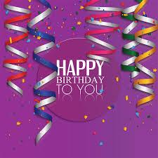 Purple Happy Birthday Background Gallery Yopriceville High