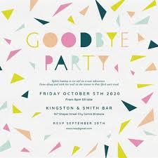 Farewell Invites For Colleagues Retirement Farewell Party Invitation Templates Free
