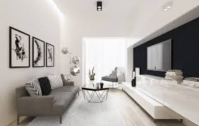 graphic art in a modern living room