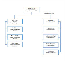 Sample Project Organization Chart Sample Project Organization Chart 14 Free Documents In