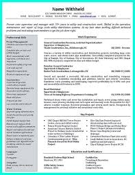Sample Construction Superintendent Resume Simple Construction Superintendent Resume Example To Get