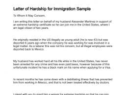 Immigration Waiver Letter Sample 0 New Company Driver