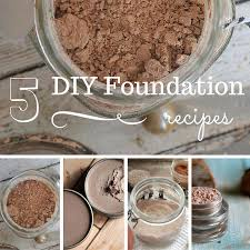 5 diy foundation recipes you have to try