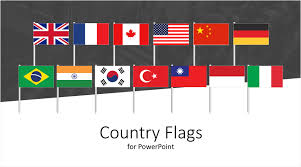 Country Flags Icons For Powerpoint Templateswise Com
