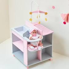 Olivia s Little World Grey Polka Dots Baby Dolls Changing Station