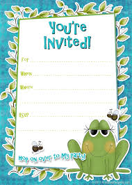 barney party invitation template birthday party invitation templates word birthday invitations