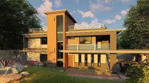 4 bedroom maisonette house plan plans