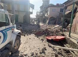 Dodental aardbeving Haïti nu op 1297 ...