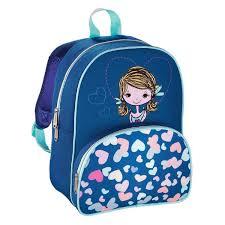 Рюкзак детский <b>Hama LOVELY GIRL синий</b>/голубой — купить с ...
