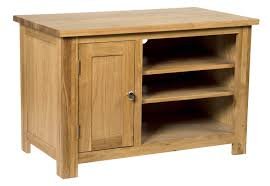 Small Tv Cabinets Waverly Oak Small Compact Tv Stand With Cabinet Storage Hallowood