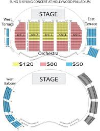 The Palladium Los Angeles Seating Chart