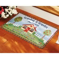 personalized front door matsPersonalized Grandma  Grandpa Doormat Multiple Sizes  Walmartcom
