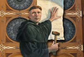 Decorating martin luther church door photos : Rediscovering Martin Luther-500 Years of Protestant Reformation ...