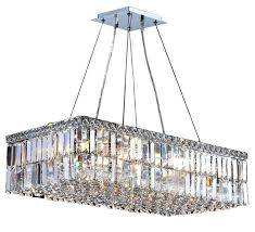 16 light chandelier cascade rectangle light crystal chandelier chrome touareg 35 wide gold 16 light crystal