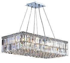 16 light chandelier cascade rectangle light crystal chandelier chrome touareg 35 wide gold 16 light crystal