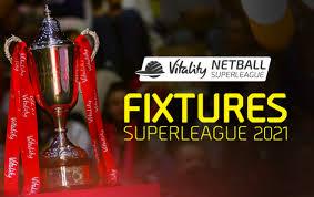 Superleague Fixtures - Manchester Thunder