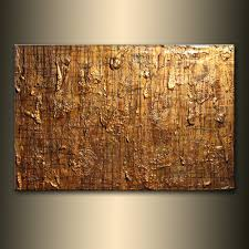 abstract painting original modern textured metallic contemporary abstract painting by henry parsinia ready to hang 36x24