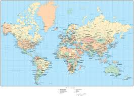 download map world cities  major tourist attractions maps