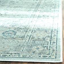 vintage rugs rug oriental ne blue x light grey viscose palace in turquoise and ivory dark