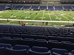 Alamodome Ncaa Basketball Seating Chart Alamodome Section 135 Utsa Football Rateyourseats Com