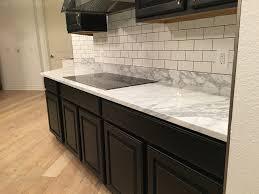 elegant carrara marble countertop