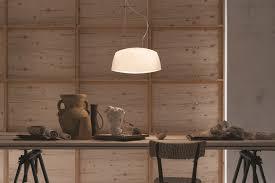 lucente lighting. Blown Glass Pendant Lamp AERO | By Lucente Lighting