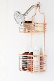 wall shelf gold bathroom decor