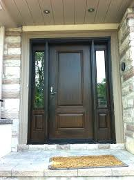 exterior doors with side lites wood grain fiberglass door with 2 side installed by front entry doors in front door with sidelights and arched transom