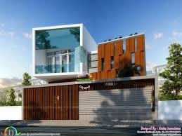 cute ultra modern house architecture kerala home design