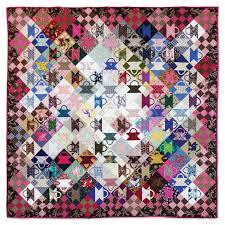 Postage Stamp basket quilt, 58 x 58