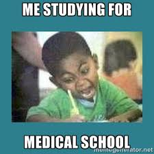 Me studying for medical school - I love coloring kid | Meme Generator via Relatably.com